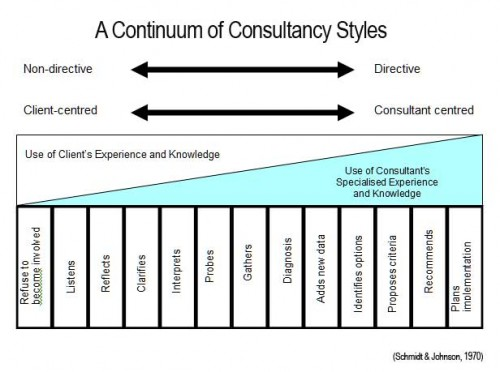 A Continuum of Consultancy Styles